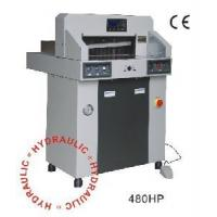 Buy cheap 480HP Hydraulic & Programmable Paper Cutter product