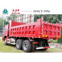 Buy cheap Heavy Duty Sinotruk HOWO Dump Truck  6X4 With Manual Transmission For Sale product