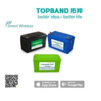 Buy cheap Smart Bluetooth Lithium Battery Deep Cycle Batteries 100Ah Typical Capacity product