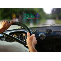 3.5 Inch A2 Mini Heads Up Car Display Speed KM MPH Compass Brightness Adjustable