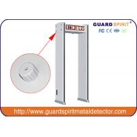 Buy cheap 6 / 12 Detecting Zones Security Metal Detector Metal Walk Through Gate product