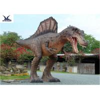 Buy cheap Attractive Animatronic Jurassic Dinosaur Garden Statue Mouth Movement With Sounds product