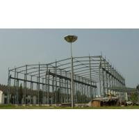 Buy cheap High Strength Steel Building Structures for Workshop, Airports, High - Rise Buildings product