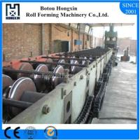 Quality Two Waves Tile Roll Forming Machine For Highway Guardrail 8m / Min Capacity for sale