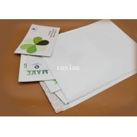 China No Fading White Poly Bubble Mailers Light Weight For Postage Savings on sale