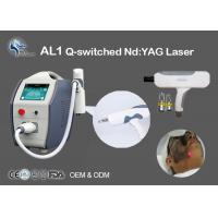 Buy cheap Tattoo Removal Q-Switched Nd Yag Laser Machine 532nm 1064nm Non Surgical product