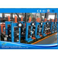 Buy cheap Adjusted ERW Tube Mill Production Line Energy Saving Blue Color HG32 product