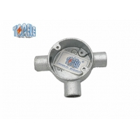 Buy cheap Oem Design Conduit Galvanized  Fittings Malleable IronTee  Circular Electrical Box product