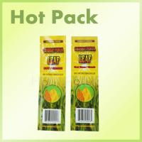 Buy cheap Heat Seal Aluminum Foil  Plastic Tobacco Pouch , Cigarette Tobacco Pouch product