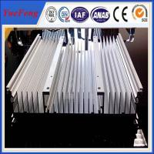 China OEM air conditioner profile, aluminium central heating radiators for ammonia air condition on sale