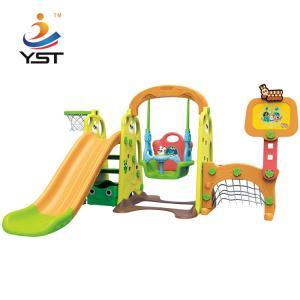 Buy cheap Elephant Plastic Kids Swing Slide Improve Children Intelligence Oem Service product