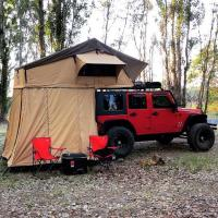 Buy cheap Customized Truck Pop Up Roof Top Tent Streamlined Design For Family product
