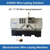 CANEX electro fusion fittings wire laying CNC machine cx-32/250zf