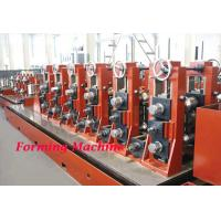 Buy cheap Straight Seam High Frequency Cold Roll Forming Machine / Square Tube Making Machine product