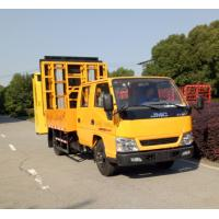 Buy cheap ISUZU Chassis Pneumatic Truck Mounted Attenuator With LED Display Screen product