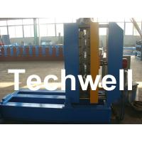 Buy cheap 0.3 - 0.8mm Material Thickness Roof Sheet Crimped Curving Machine With PLC Control System product