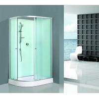 Buy cheap Custom Made Aluminum Framed Shower Enclosure Interchangeable Sandblasted product