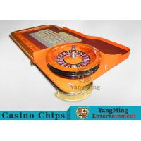 Buy cheap Casino Dedicated Luxury Roulette Poker Table Solid wood + High-Grade Soft Bag Armrest product