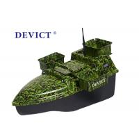 Buy cheap Radio Controlled Bait Boat DEVC-208 camouflage remote frequency 2.4GHz product
