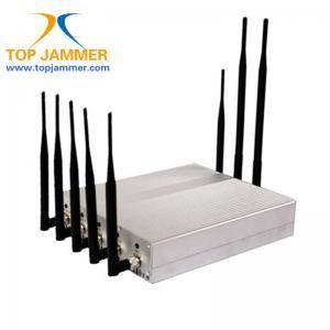 8 móbil de rádio da G/M 3G 4G LTE Wifi GPS Lojack do construtor do jammer do sinal do RF da sala de reunião das faixas