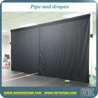 China custom pipe and drape adjustable backdrop stands curtain poles for sale on sale