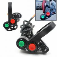 Buy cheap Modified Motorcycle Spare Parts Multifunction Combination Switch Horn Button Headlight / Turn Light Switch product