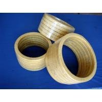 Buy cheap High Resilience Kevlar Gland packing Low Cold Flow Chemical resistance product