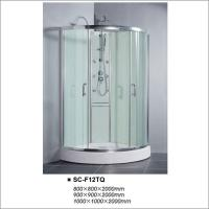 Buy cheap Quadrant Bathroom Enclosures With Tempered Transperant Glass Sliding Door product