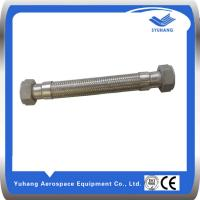 Buy cheap Reduced thread Metal corrugated hose,Reduced thread Metal braided hose,Flexible Hose product