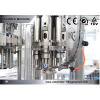 China Milk / Tea / Water Filler Machine Semi Automatic 3 In 1 CSD Filling Line on sale