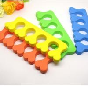 Buy cheap TS-7 Colorful EVA Disposable Toe Setarator For Foot Polish Nail Care product