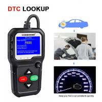 China distributor price auto diagnostic scanner o2 sensor test with battery voltage tester on sale