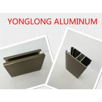 Buy cheap Electrophoresis Matte Or Flat Bronze Aluminum Window Profiles Length Shape Customized from wholesalers