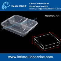 Buy cheap disposable 3-compartment food container mould manufacturer product