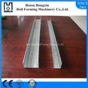 Buy cheap Steel Light Keel Roll Forming Machine CE Stud Track Roll Forming Machine product