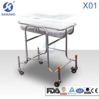 Buy cheap Hospital Furniture:Children Bed&Baby Crib, X01 Stainless Steel Children Bed product