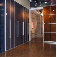 Buy cheap Interior Bi Folding Doors For Wardrobe, Custom Aluminum Bi Fold Closet Doors for from wholesalers