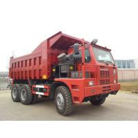 Buy cheap 70 Tons Mining King 6x4 Tipper Truck 10 Wheeler With Front Lifting System product