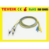 Buy cheap OEM EEG Cable ,EEG electrodes, EEG Ear clip , Pure Silver elctrode,neurofeedback product