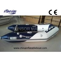 Quality River / Sea Comfortable PVC Hull Foldable Inflatable Boat For 4 Passengers for sale