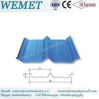 Buy cheap Corrugated steel sheet for steel structure building facade WMT-54-410-820 product