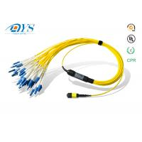 Quality 8f 12f 24f Singlemode Multimode MPO/MTP to LC MPO Harnesses Cables breakout for sale
