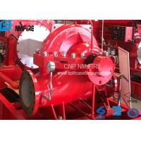 Buy cheap High Performance Split Case Fire Pump , Fire Fighting Water Pump 180kw Shaft Power product