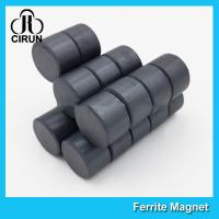 China Small Size Ferrite Ceramic Disc Magnet For Louderspeaks / Automotive Sensors on sale