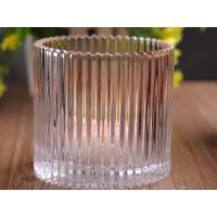 Buy cheap 530Ml Personalized Glass Candle Holders For Table , Eco Friendly product
