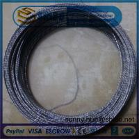 Buy cheap 0.76mm Twisted Tungsten Wire in Making Coiled and Filaments product
