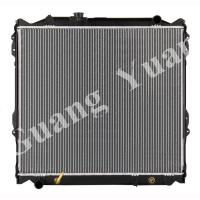 Buy cheap 16400 75180 / 16400 75190 Toyota Aluminum Car Radiators For PRADO 95-98 VZJ95 AT DPI 1998 product