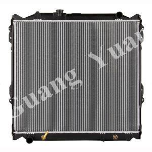 Buy cheap 16400 75180 / 16400 75190 Toyota Aluminum Car Radiators For PRADO 95-98 VZJ95 AT DPI 1998 product