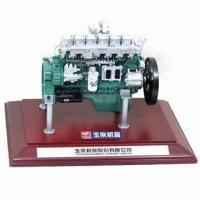 Buy cheap Mining engine model with wooden base and box packaging, customized scale are welcome product