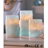 Buy cheap 3 Set Scented Battery Operated LED Candles with Seashell Starfish product